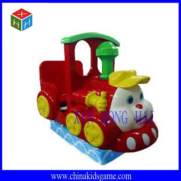 KR-XHH31041 Children favorite rocking chair/ happy train coin operated kiddie ride
