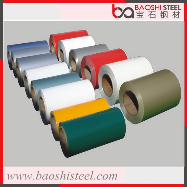 Cold rolled color coated steel coils with ASTM DIN JIS Standard