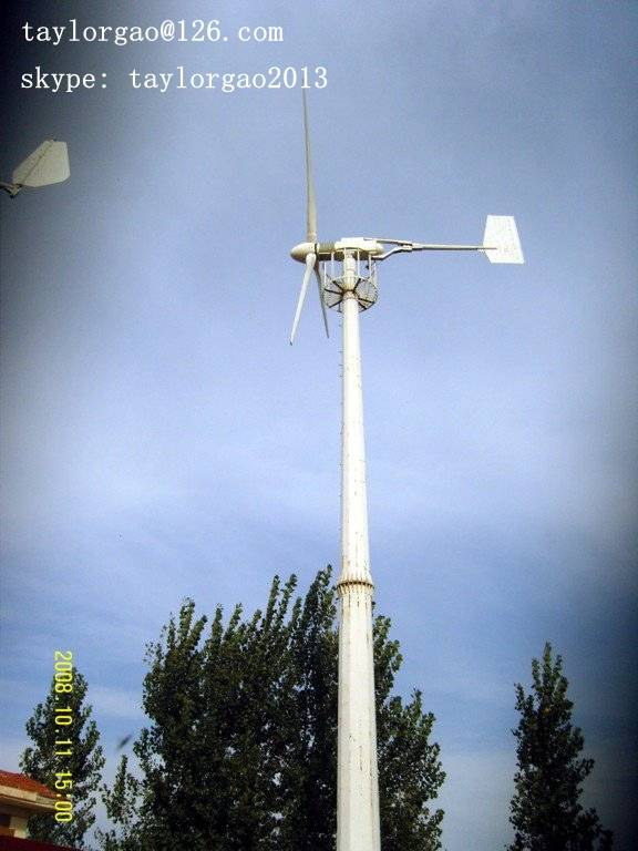 YANENG 20KW pitch fixed wind turbine for home, farm, water pumping
