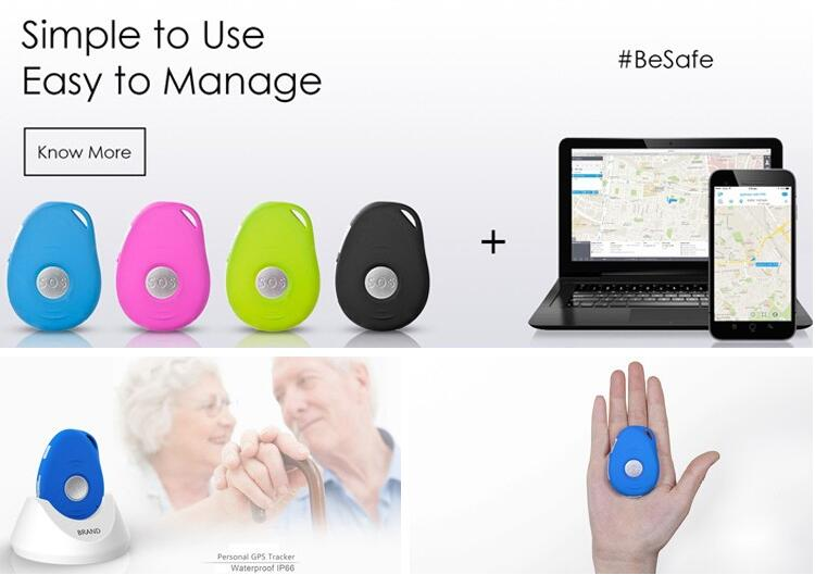GPS/GSM Bluetooth Multi-Purpose Tracker SOS