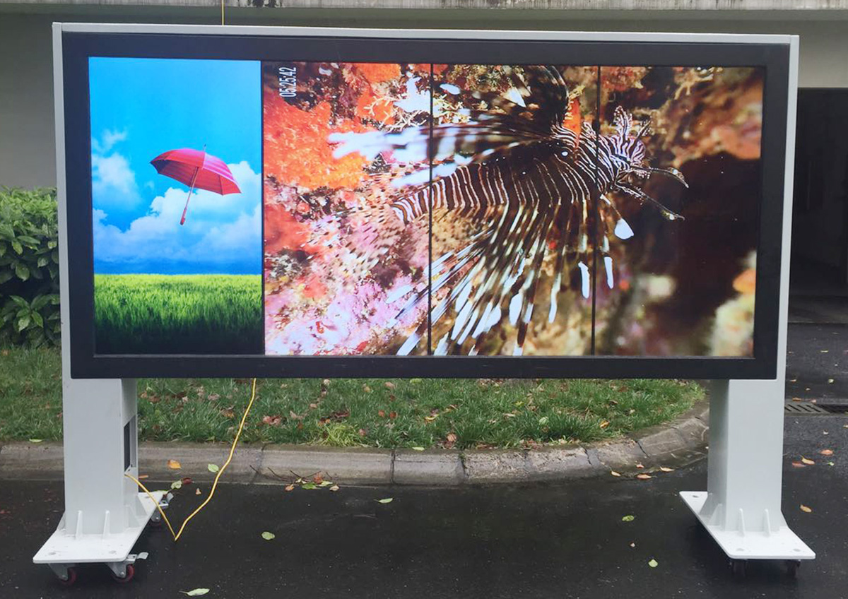 outdoor digital LCD signage
