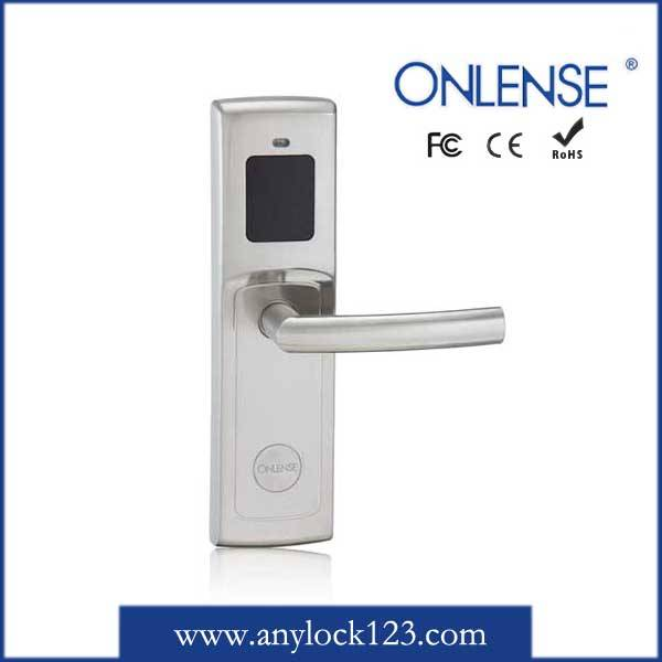 Economical Zinc Alloy Security Hotel Card Door Lock