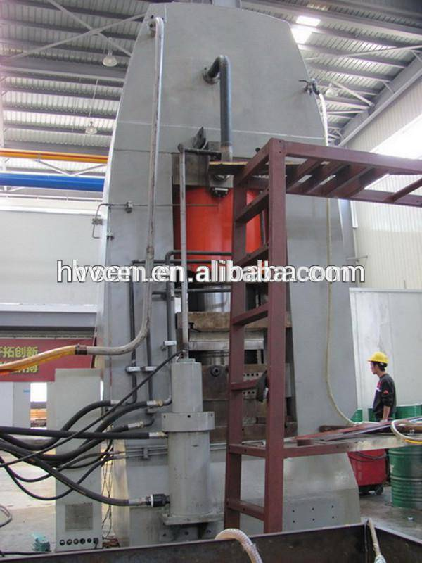 YR27-6000T Sheet rapid forming hydraulic press for plate heat exchanger