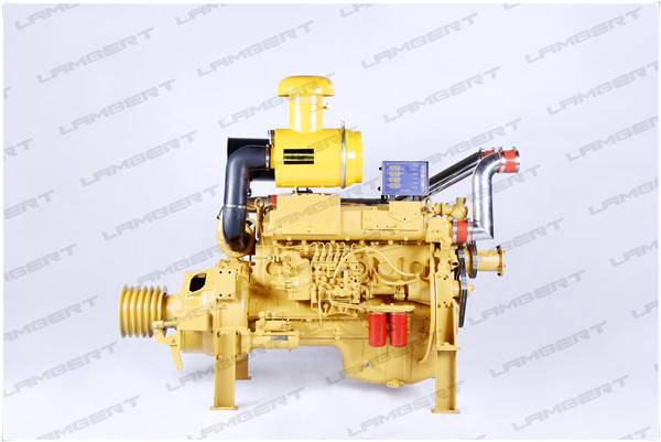24KW-295KW Weifang stationary diesel engine with the clutch and V-belt pulley