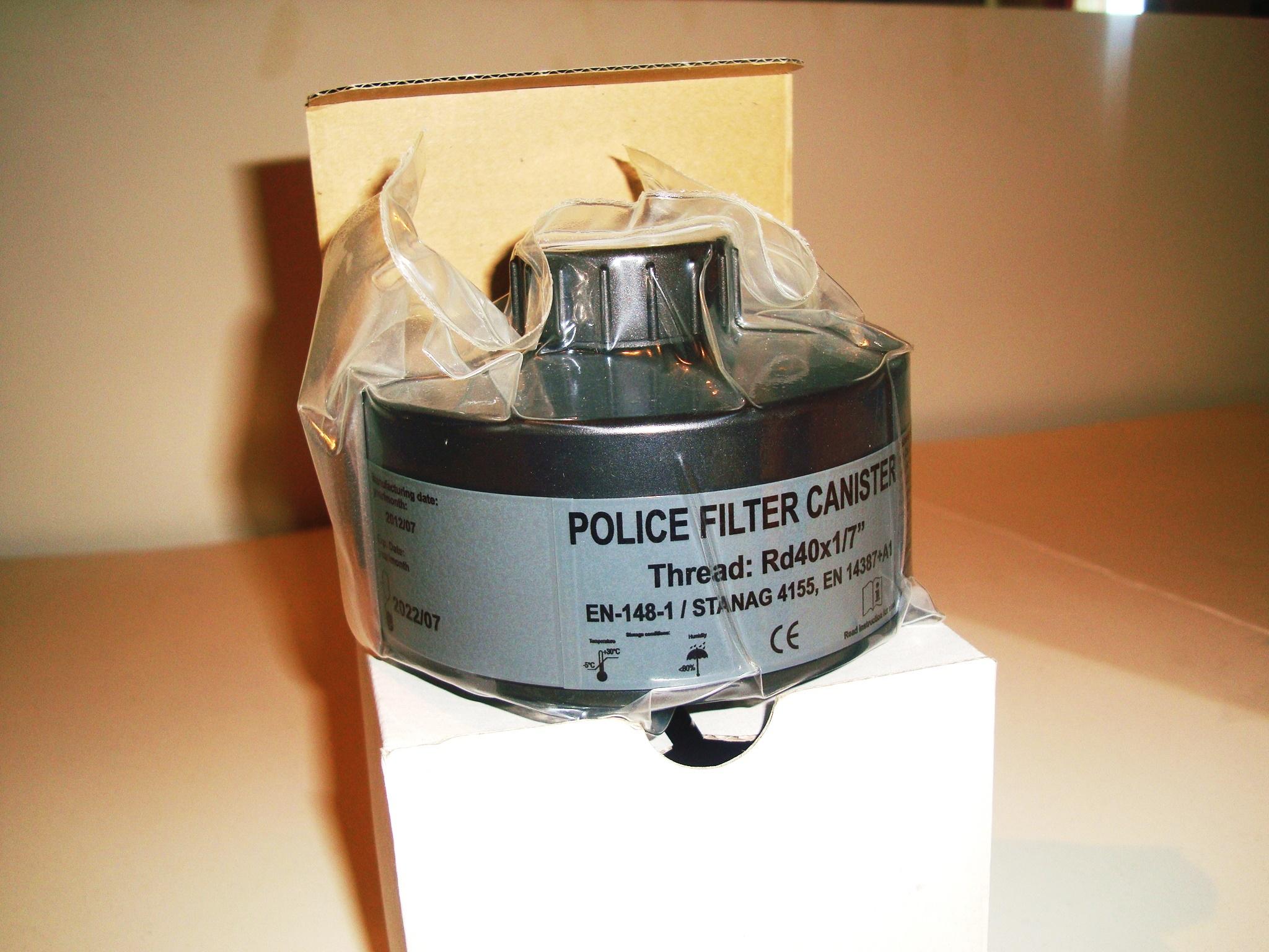 anti riot gas filter