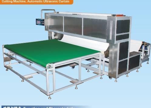 automatic ultrasonic curtain cutting machine