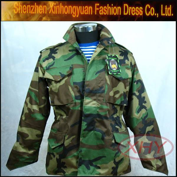 M65 military trench coat military uniform