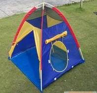 children camping tent