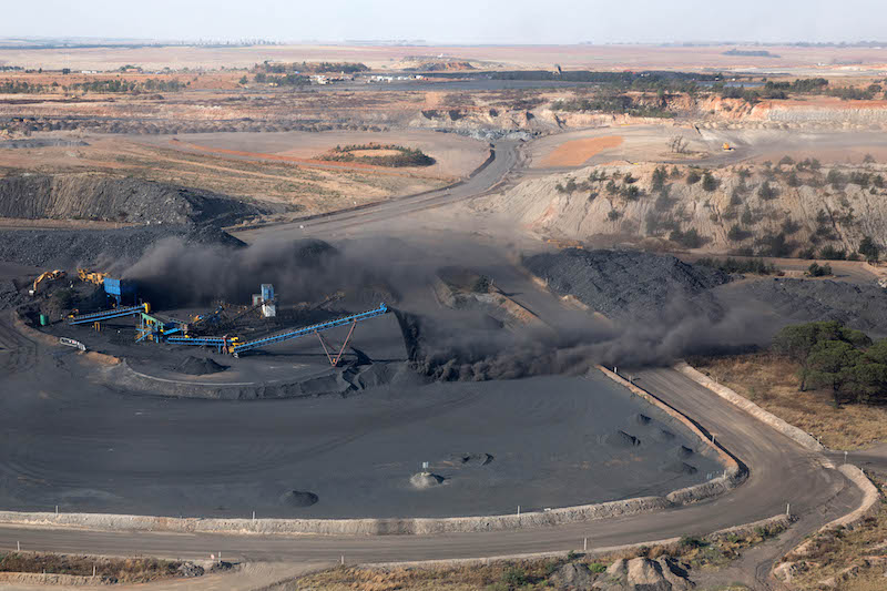 Fully operational coal mine for sale
