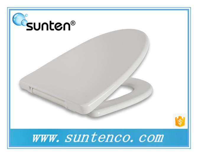 Xiamen White Duroplast V Shape Toilet Seat, Soft Close V Shape Toilet Seat