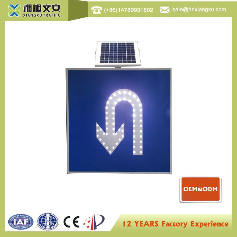 OEM ODM LED illuminated regulatory and warning MUTCD signs