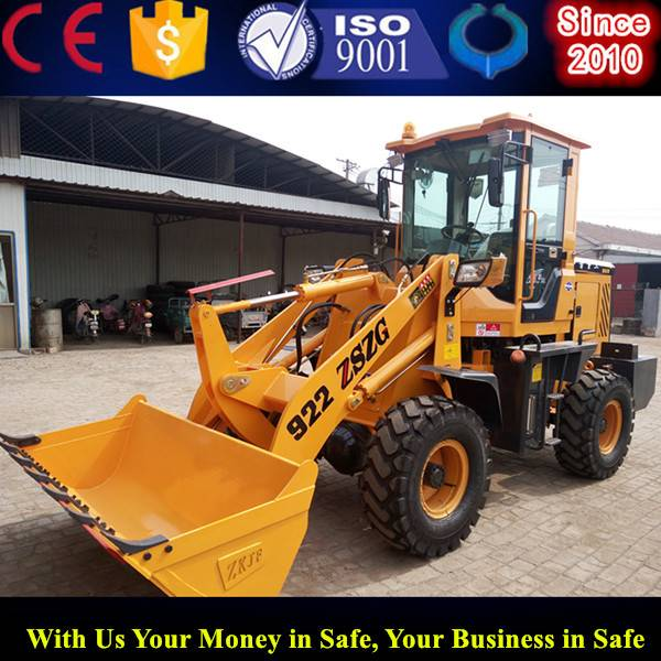 hydraulic automatic wheel loader small front loader