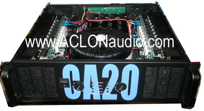 Big Power Amplifier for Live Music (CA20)