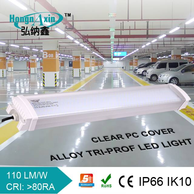 High quality IP66 tri-proof led tube light,SMD2835,1.5M 80W, 5 year warranty