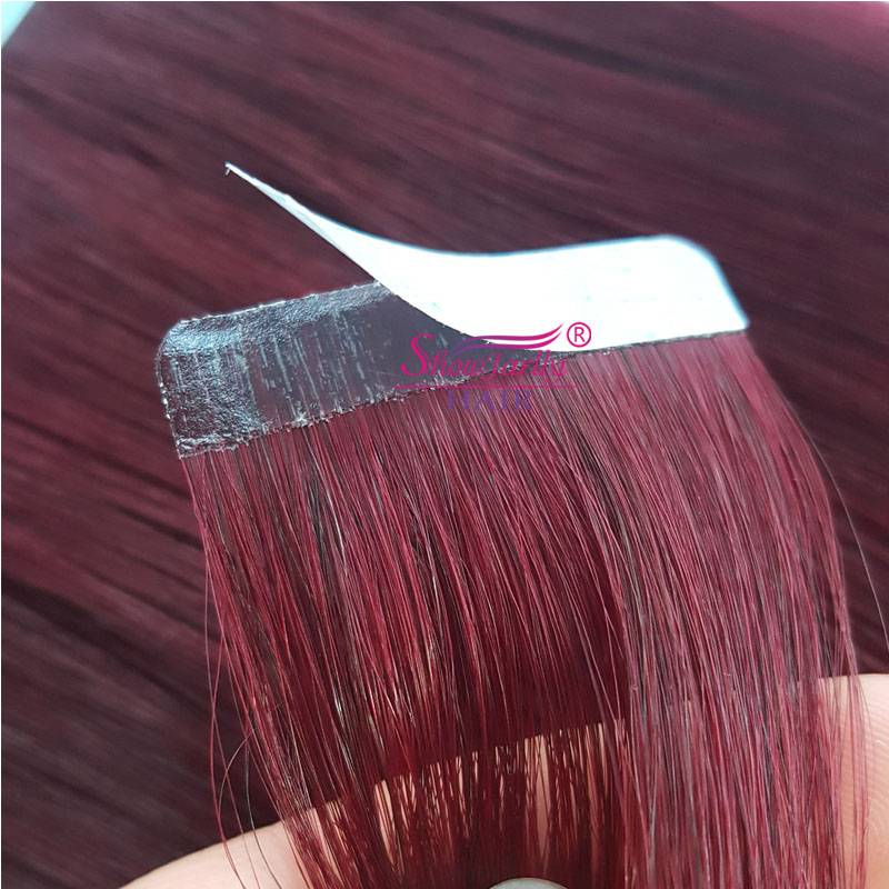 Tape in hair extensions#99j
