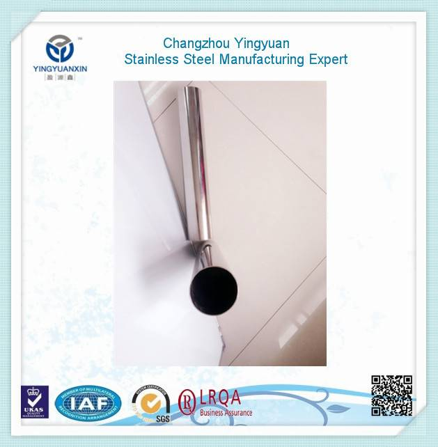 Non-secondary thin wall sch5S stainless steel tube