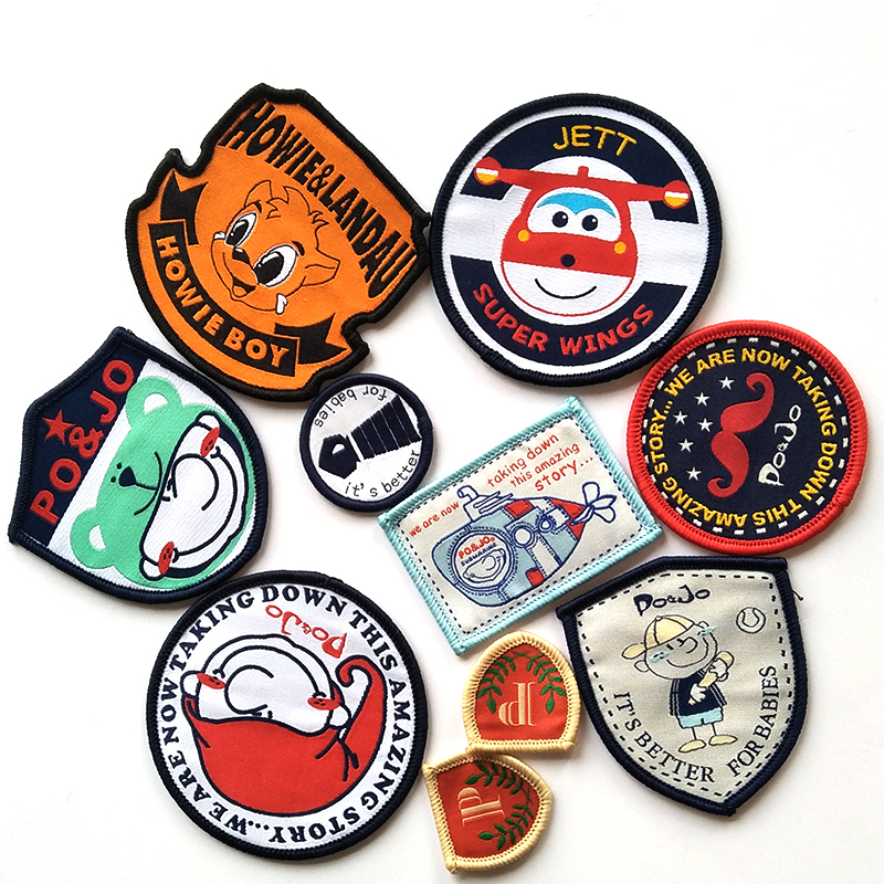 Hot-Selling Football Team Patches and Custom Woven Patch for Garment