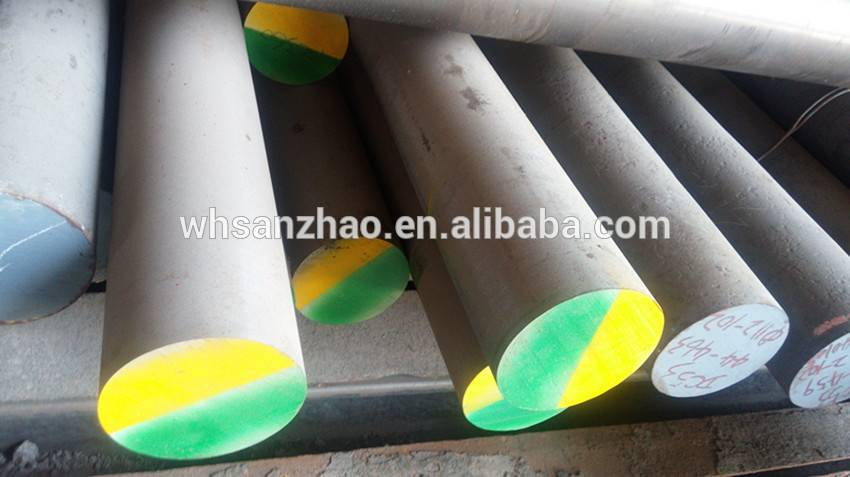 Turned D6 hot rolled steel from China
