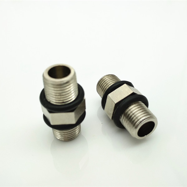 1/8 both thread body with 55 degree cylinder vent plug waterproof and breather