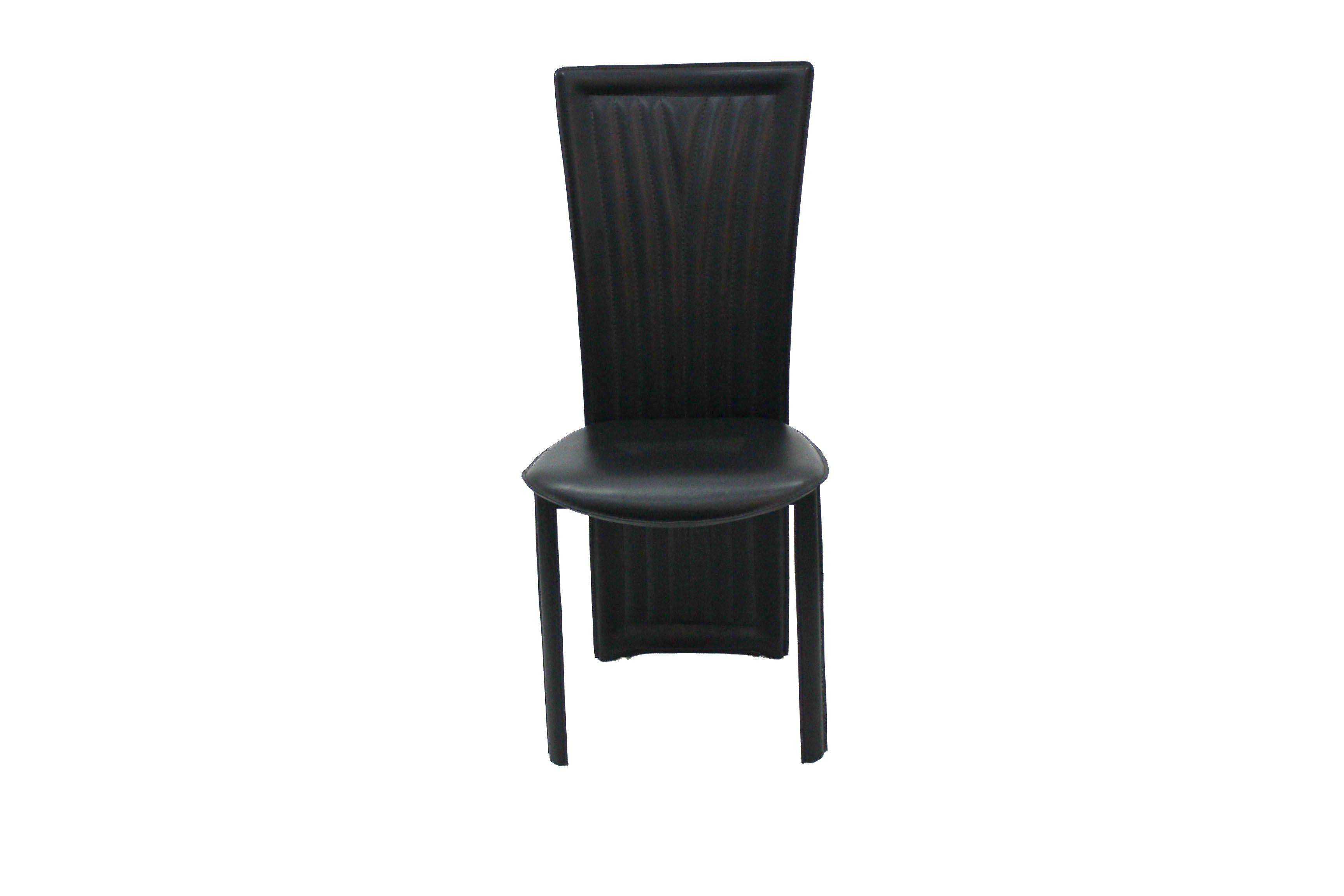 Contemporary and modern high back dining chairs