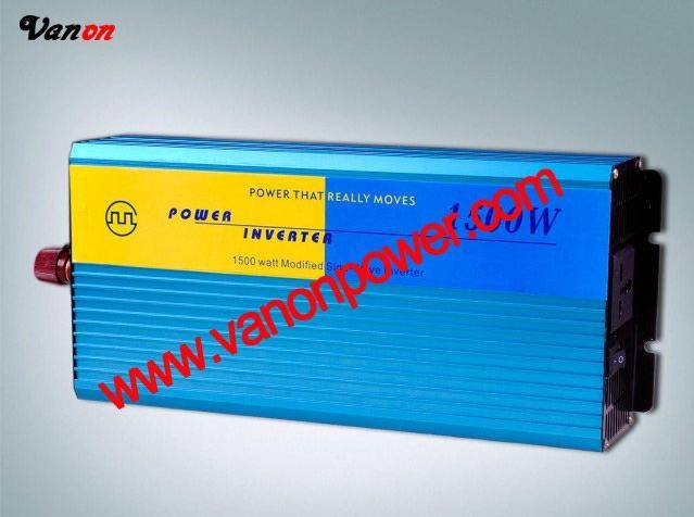 1500W Modified sine wave power inverter (12v/24V to 110v/220v-50/60hz) CE,ROHS
