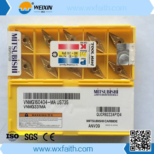 famous brand mitsubishi cnc turning tool inserts