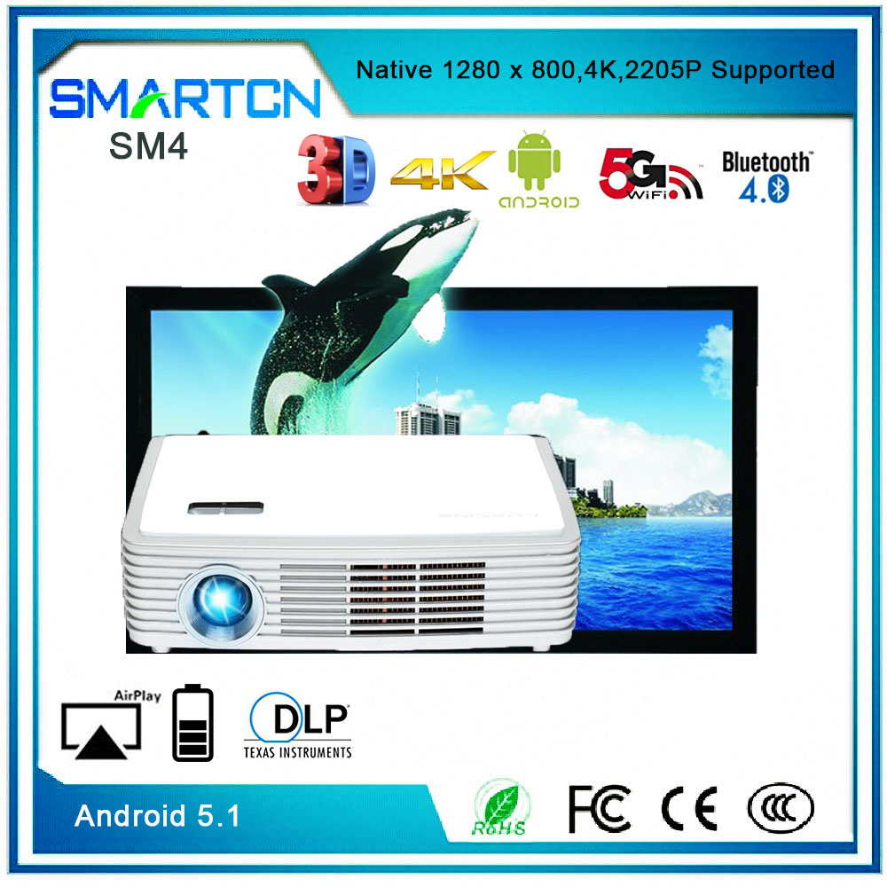 4K 3D Led Projecctor Full HD 1080P Projector
