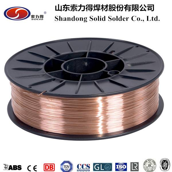 AWS ER70S-6 welding wire manufacture from Shandong China