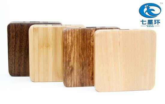 5200mah wholesale wood power bank charger