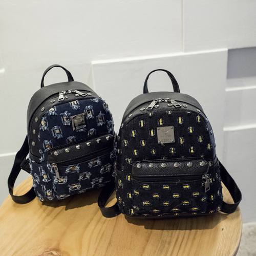 Leather Backpack PF6451