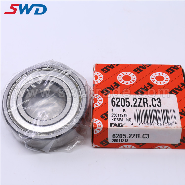 FAG Deep Groove Ball Bearing 6205.2ZR.C3