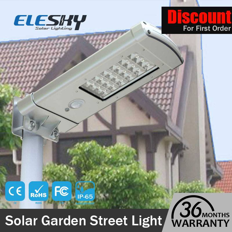 Outdoor Waterproof All In One Led Solar Street Light