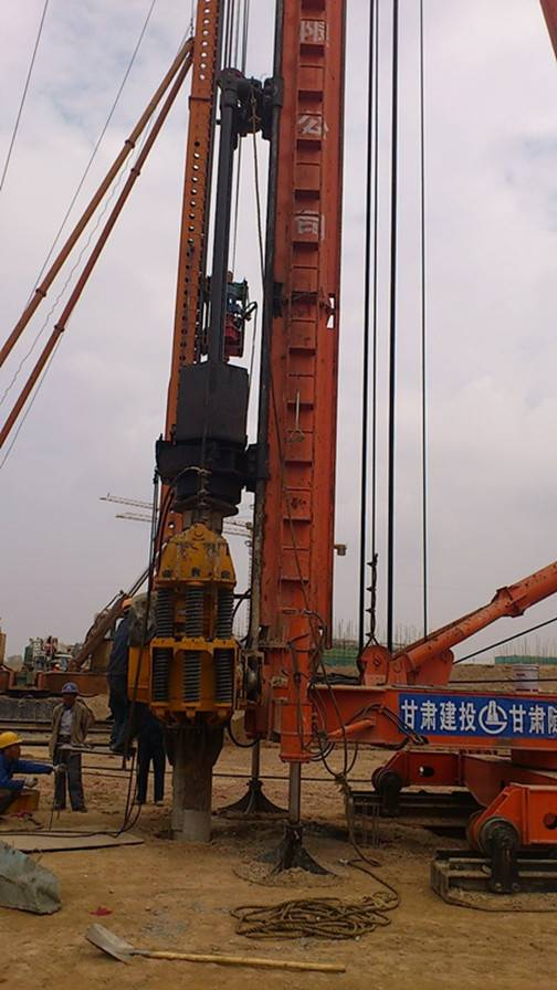 JZB200 Walking Piling Frame