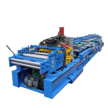 CZ100-300 Shaped Steel Quickly Change Purlin Roll Forming Machine