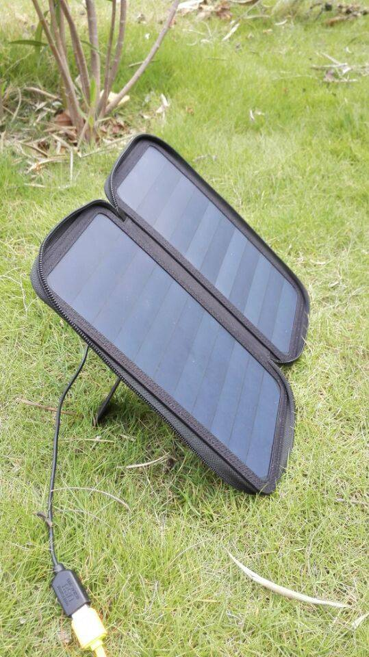 MIQI waterproof solar pack solar charger for iphone