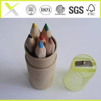 FSC certificated sharpened colored pencils set