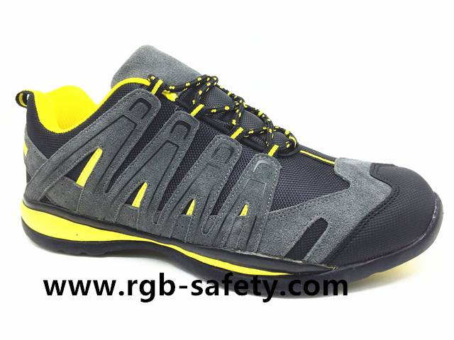 Sporty Low Profile Steel Toe Cap Safety Trainers S1P HRO SF-122