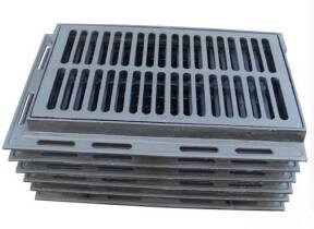 En124 Ductile Iron Manhole Covers Gully Grates Make In China