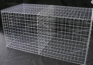 CE mark 1mx0.5mx0.5m flood protective Galfan galvanized ZnAl 5% Flexible welded gabion box & gabion
