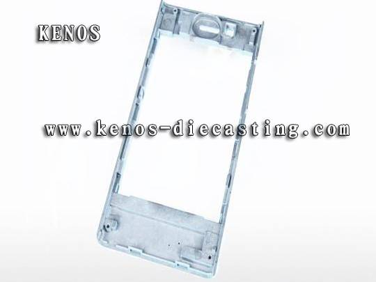 Mobile telephone shell magnesium die casting OEM factory