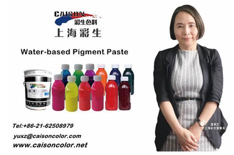 The spokesman for CAISON pigment paste