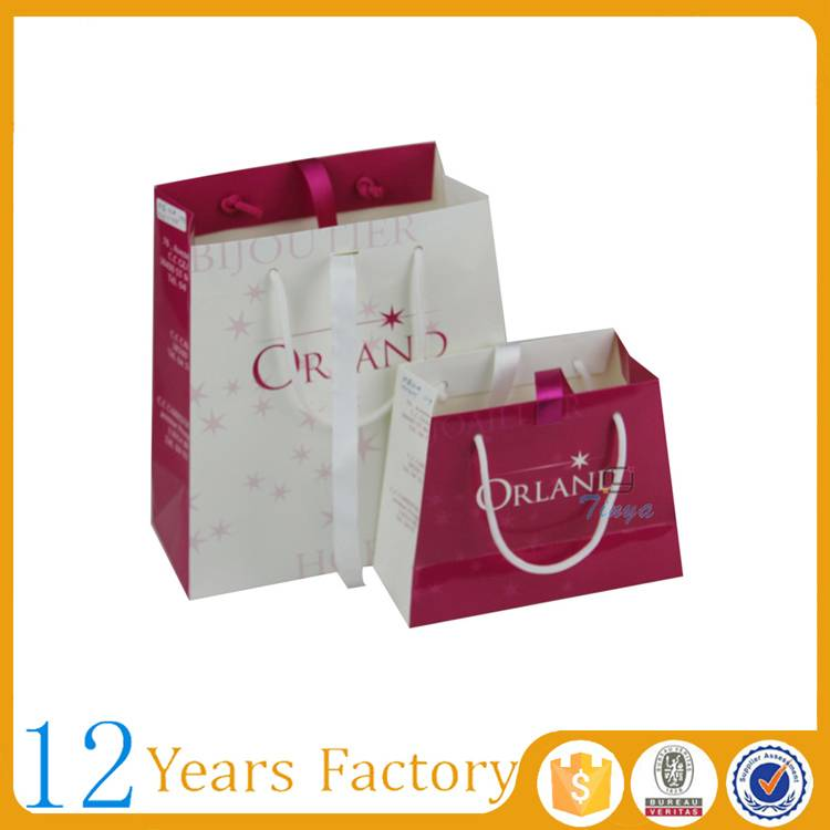 luxury gift shopping elegant paper bag