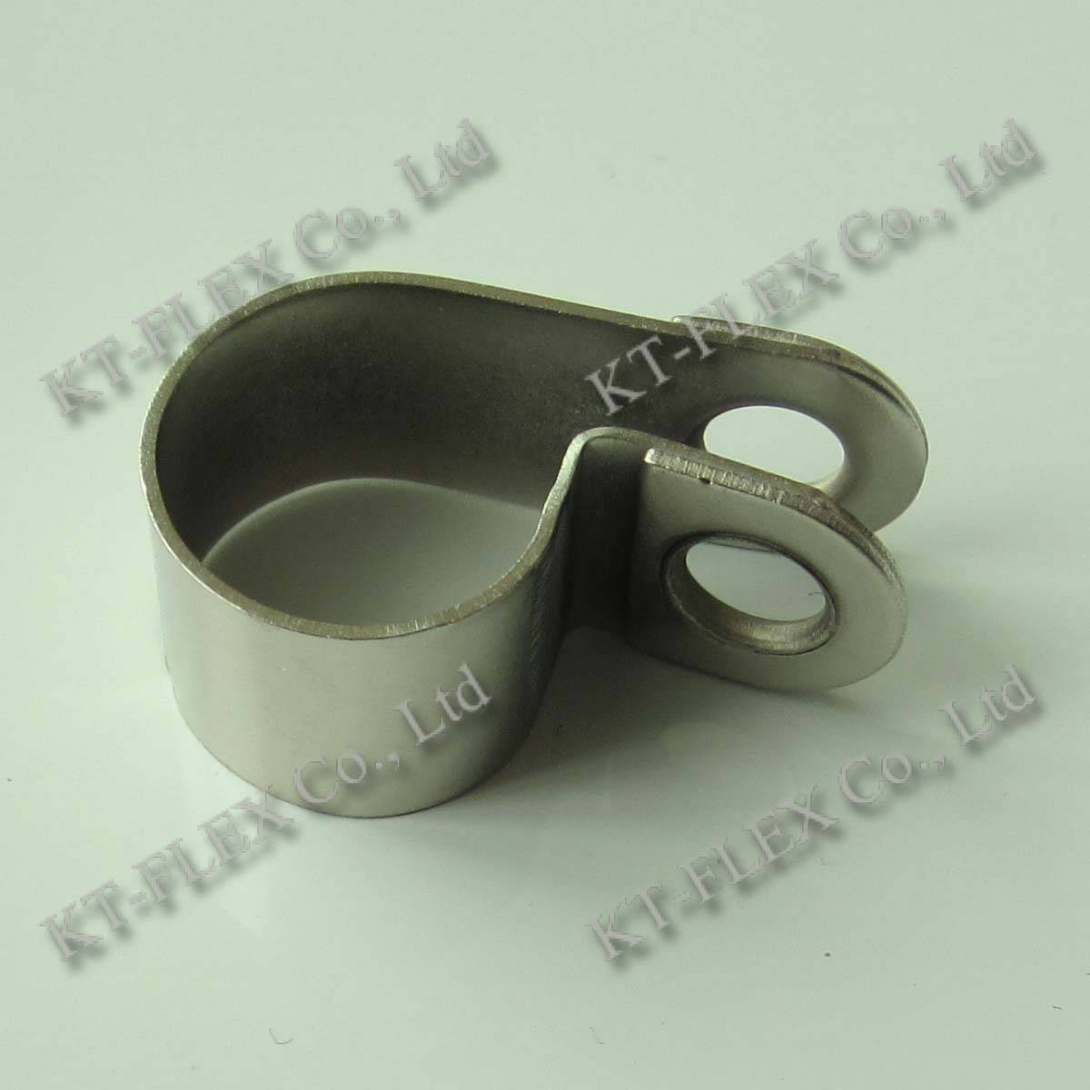 R type M6 nickel plated iron cable clip