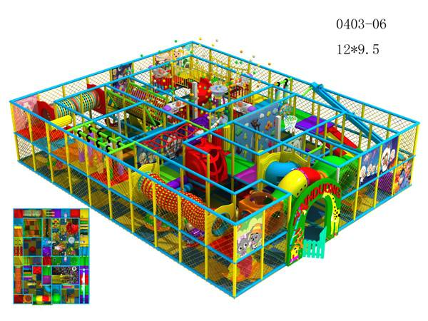 Indoor play structure for children QF-I04-0306
