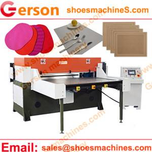 PVC/PE/PP/EVA Woven Fabric Placemats Die Cutting Press