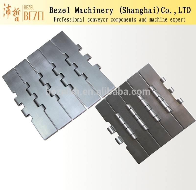 China professional SUS Slat Conveyor /Straight Chain
