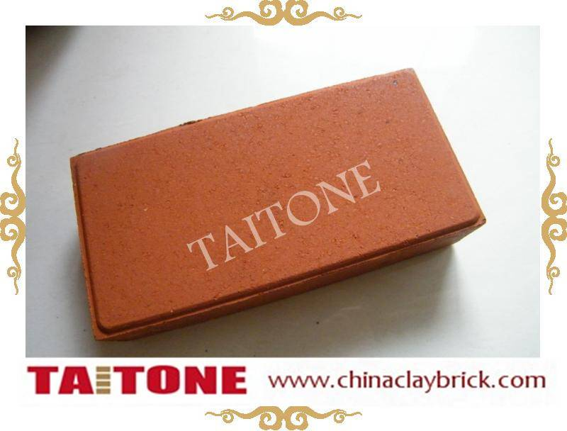 Clay solid red Flooring bricks/ outdoor bricks