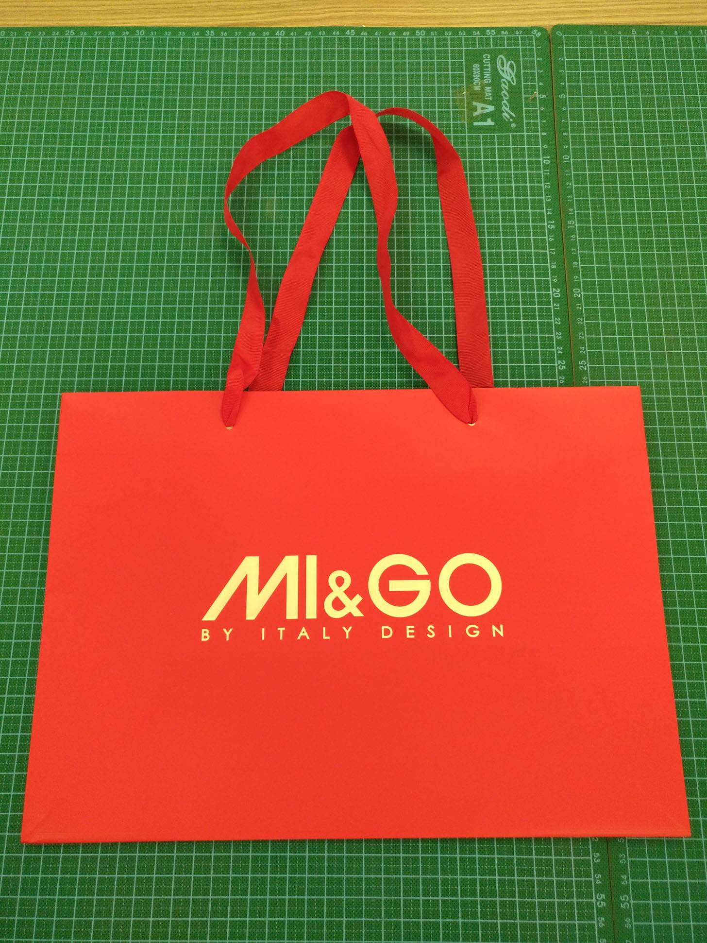 Customized Shopping Paper Bag with Custom Logo