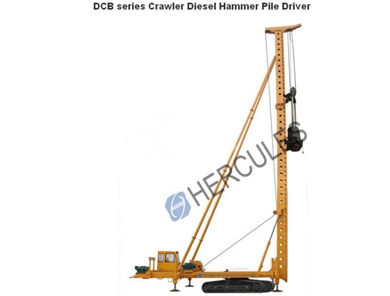 Diesel Hammer Pile Driver -Crawler type