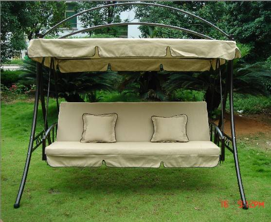 Luxury garden swing chair and bed